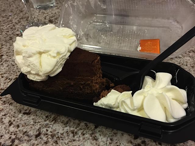 ゴディバのチーズケーキ