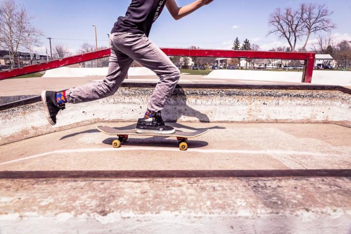 ハワイのスケートショップ