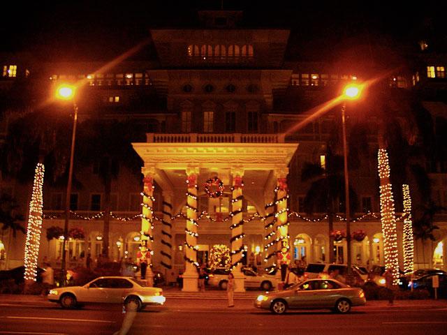 ハワイのクリスマスイルミネーション