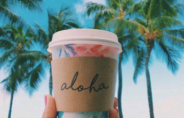 ハワイのカフェ